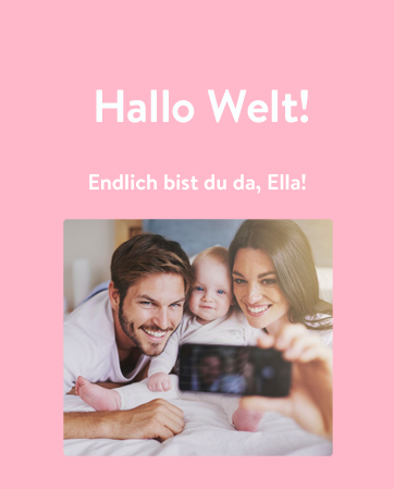 WhatsApp Buch Baby mobile