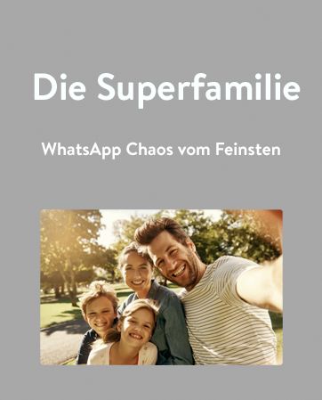 WhatsApp Buch Familie mobile