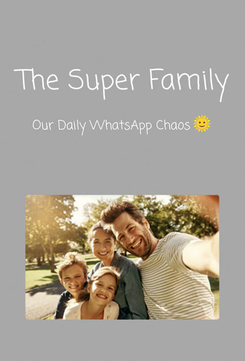 Your family WhatsApp chat as a book