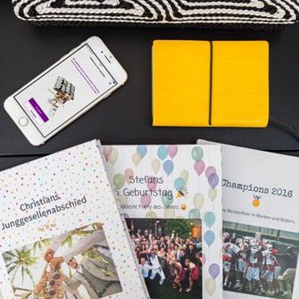 Gruppen WhatsApp Chats als Buch ausdrucken