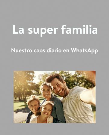 libro WhatsApp familia