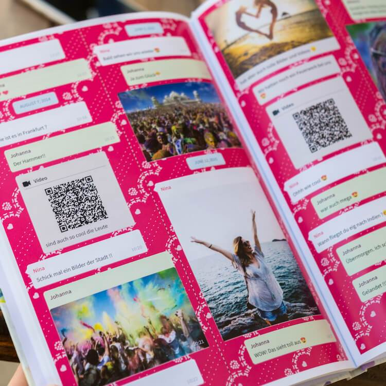 Neu: WhatsApp Buch jetzt auch mit Sprachnachrichten und Videos