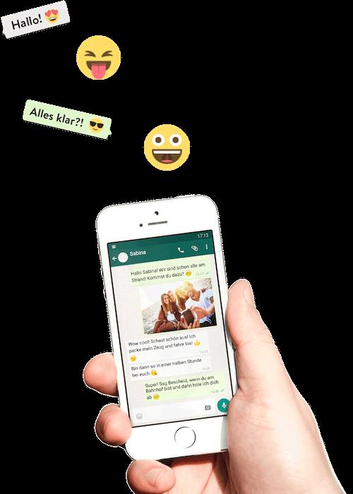 WhatsApp Chat drucken mit zapptales