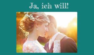 """Hochzeit - """"Ja ich will"""" WhatsApp Buch"""