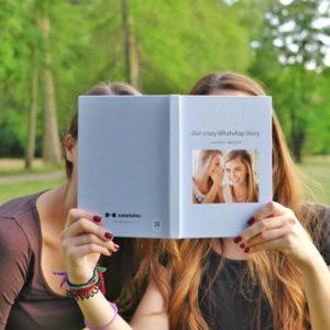 Imprimir conversacion WhatsApp mejor amiga en un libro