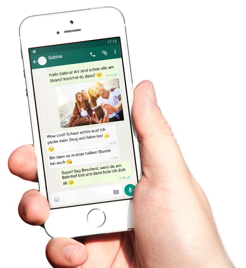 Exportiere deinen WhatsApp Chat mit deinem Smartphone um ein einzigartiges Buch drucken zu können