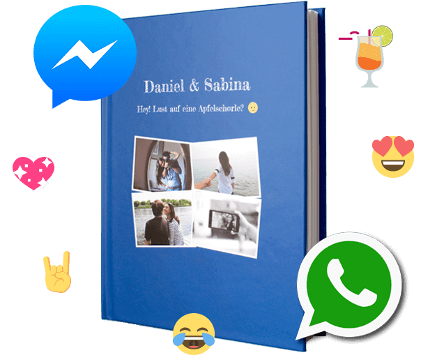 WhatsApp Facebook Messenger Chat Buch