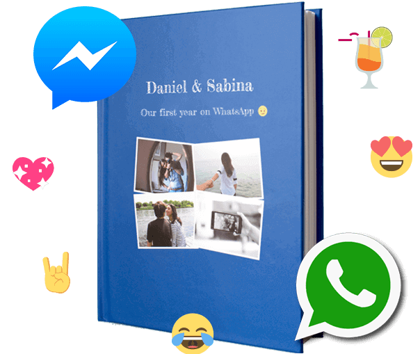 WhatsApp Book zapptales: Print WhatsApp Chats as a book