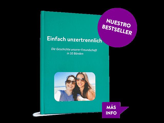 Nuestro bestseller es el libro WhatsApp en formato de tapa dura. Disponible en muchos colores diferentes.