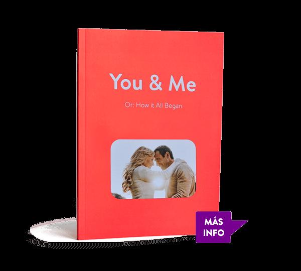 Nuestro libro WhatsApp en formato de tapa blanda. Disponible en muchos colores diferentes.