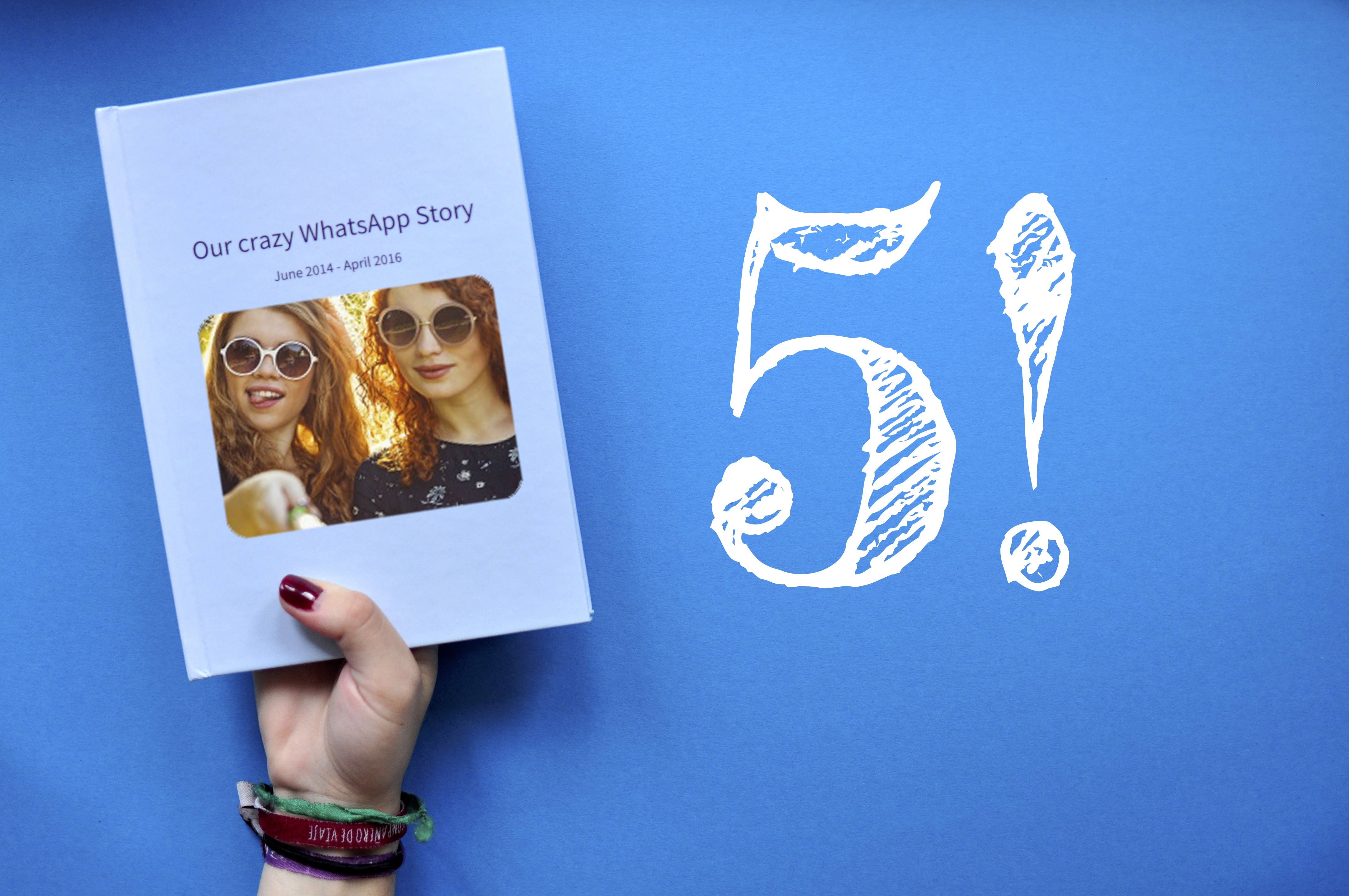 five reasons to print your WhatsApp chat as a book