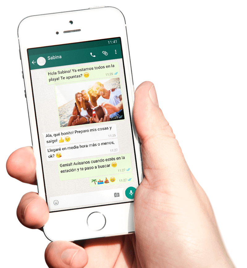 Exporta el chat de WhatsApp con tu Smartphone para poder crear un libro único