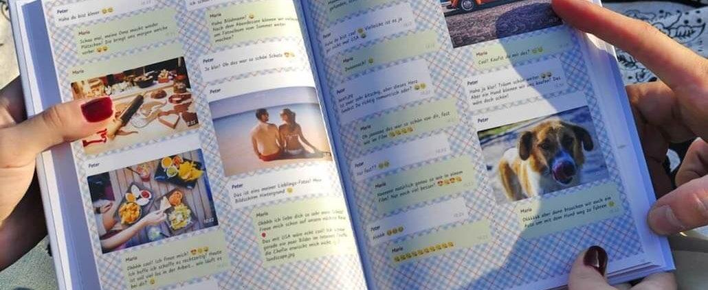 zapptales WhatsApp Buch aus Liebes Chat