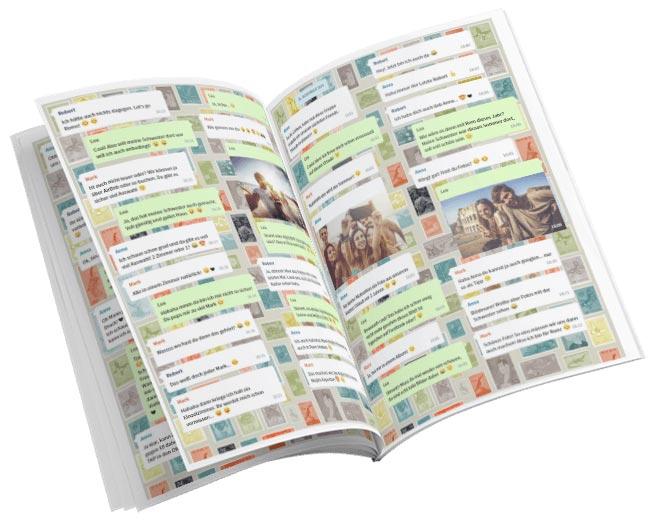 zapptales WhatsApp Buch zum Thema Reise