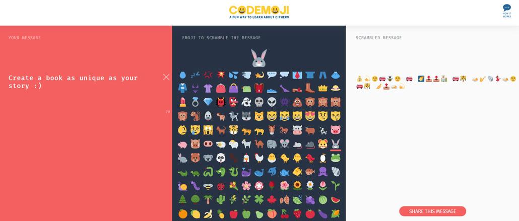 Mit Codeemoji deine Nachrichten verschlüsseln