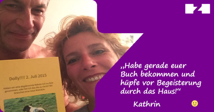 Kundenfeedback zapptales Kathrin