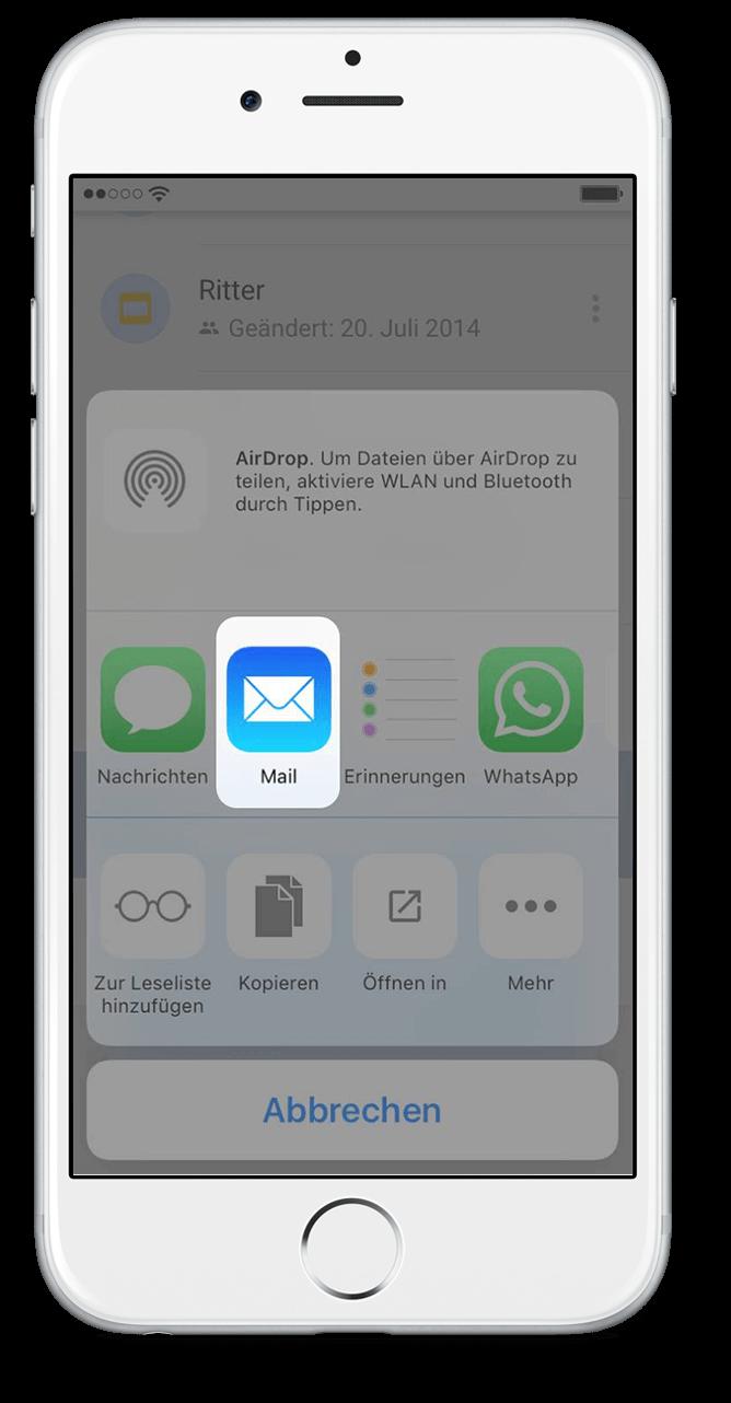 WhatsApp Chat Export mit Google Drive Scritt 10
