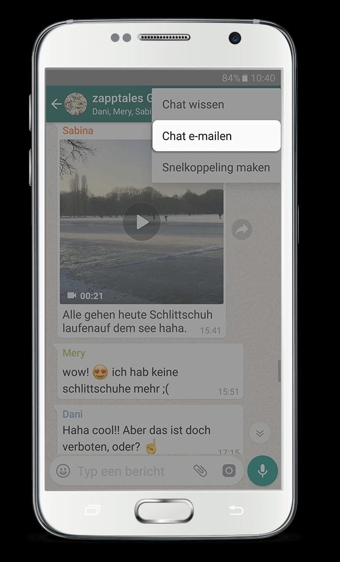WhatsApp Boek Android 2