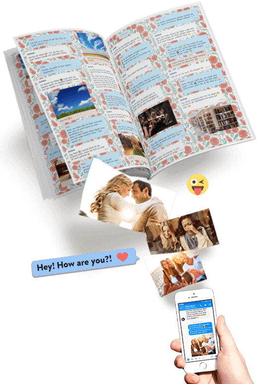 Print Facebook Messenger chat as a book with zapptales