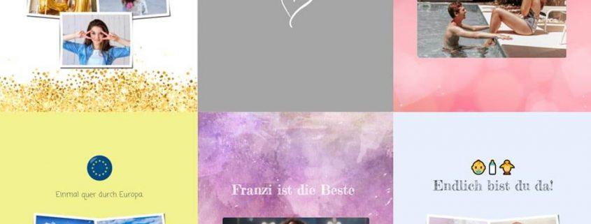 Übersicht verschiedener zapptales Buch-Cover