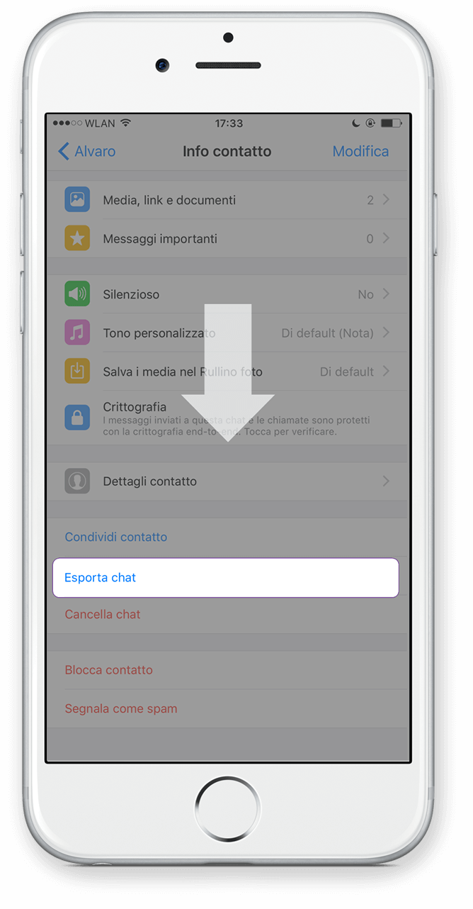 Export Iphone Icloud Passo 3