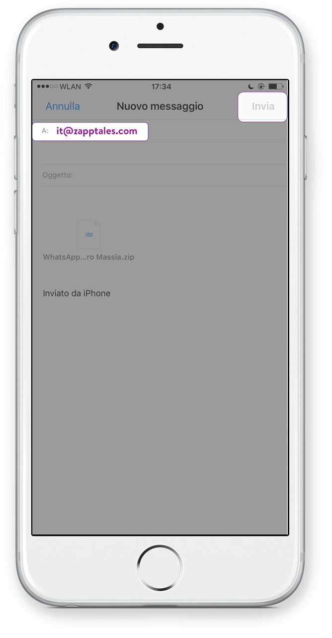 Export Iphone Icloud Passo 6