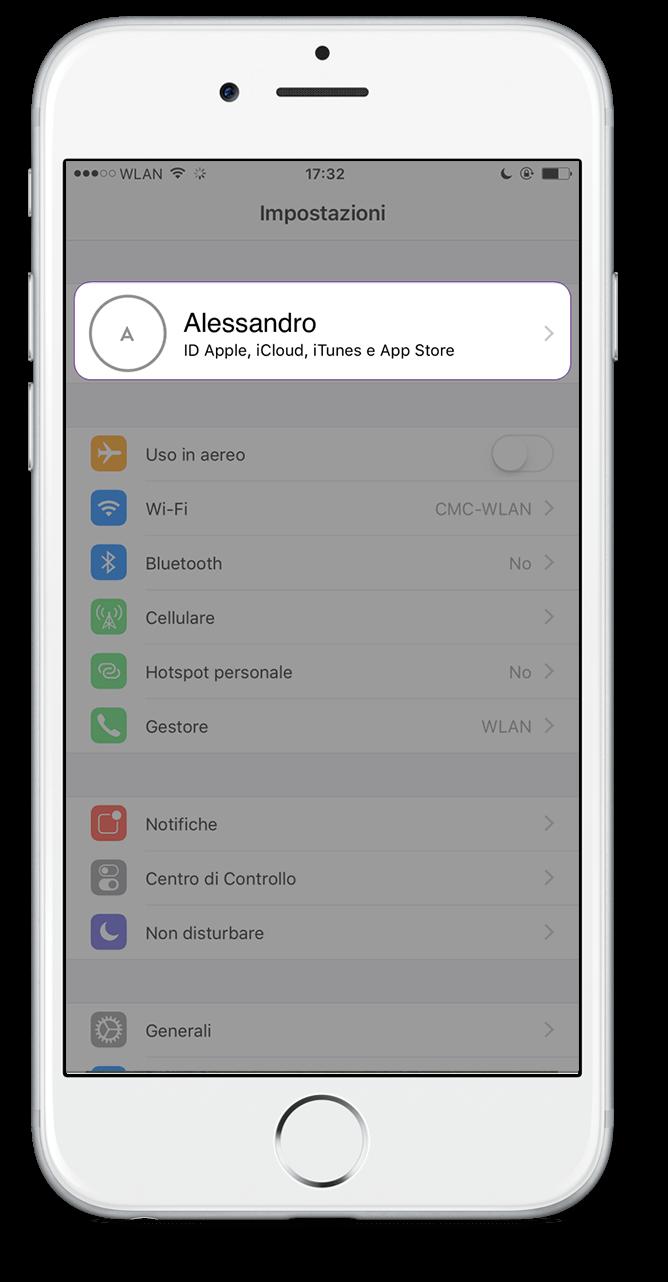 Icloud Drive iPhone Passo 1