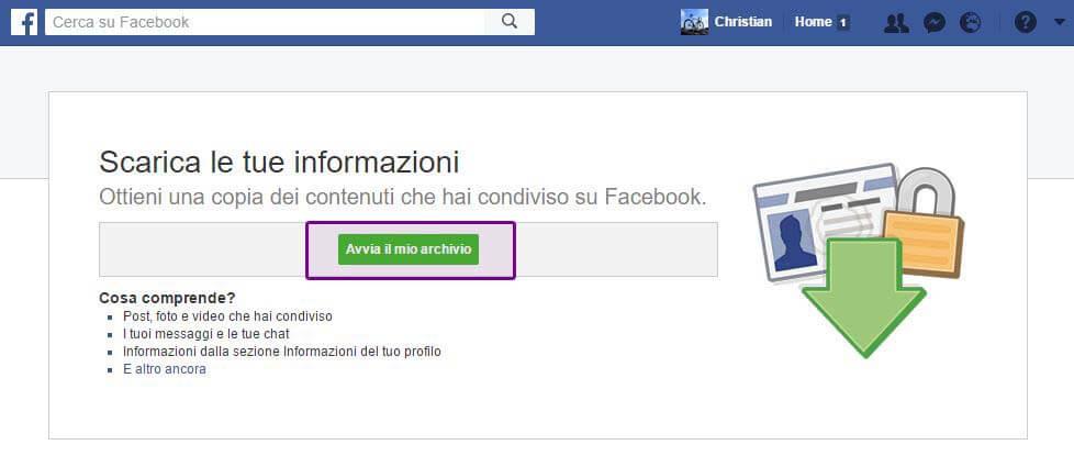 Passo 2 Libro Facebook Messenger