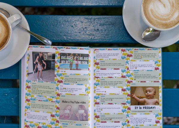 Beste Frendin Chat Buch: Pranken, Liebe und Partys