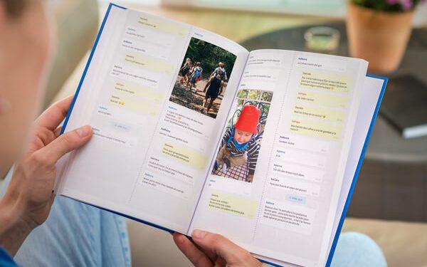Familien Chat als Buch