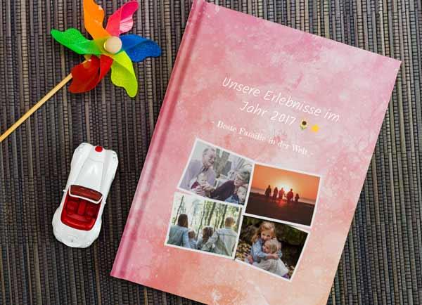 Familien Chat als Buch drucken mit zapptales