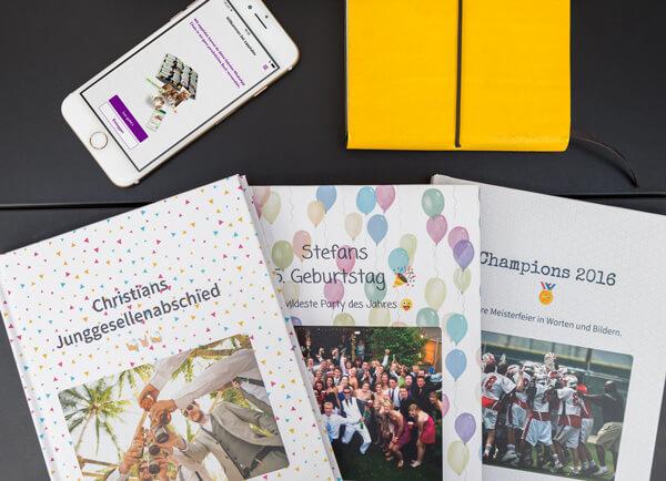 WhatsApp Gruppenchats als Buch drucken
