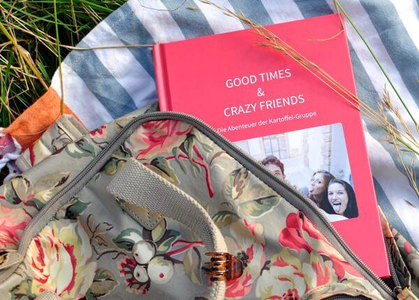 Freunde und Gruppen Chats als Buch