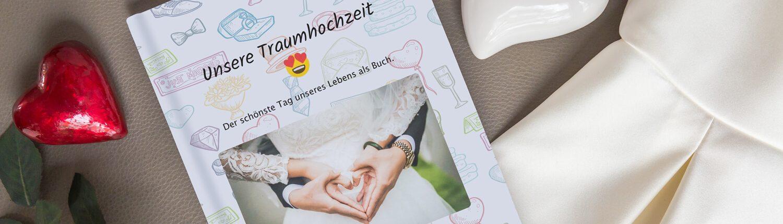 Chat Buch zur Hochzeit mit zapptales drucken
