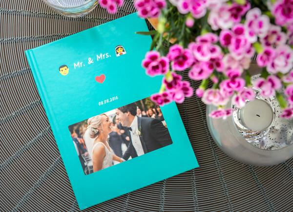 Hochzeit WhatsApp Chat als Geschenk-Buch