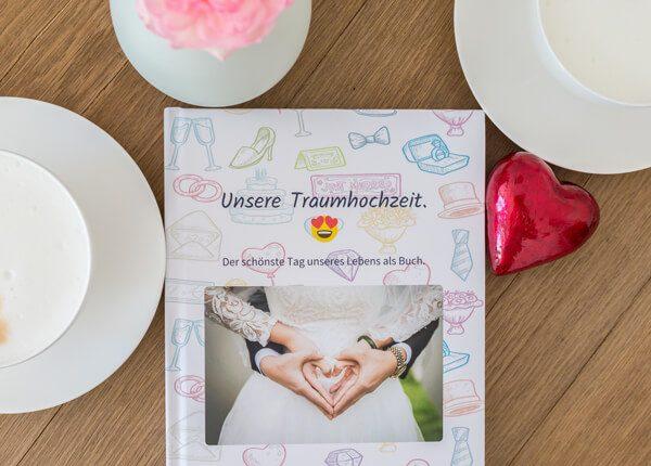 Hochzeit WhatsApp Chat als Buch