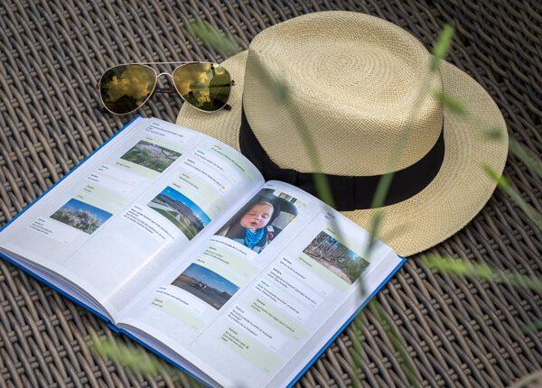 Das WhatsApp Chat Reise Buch