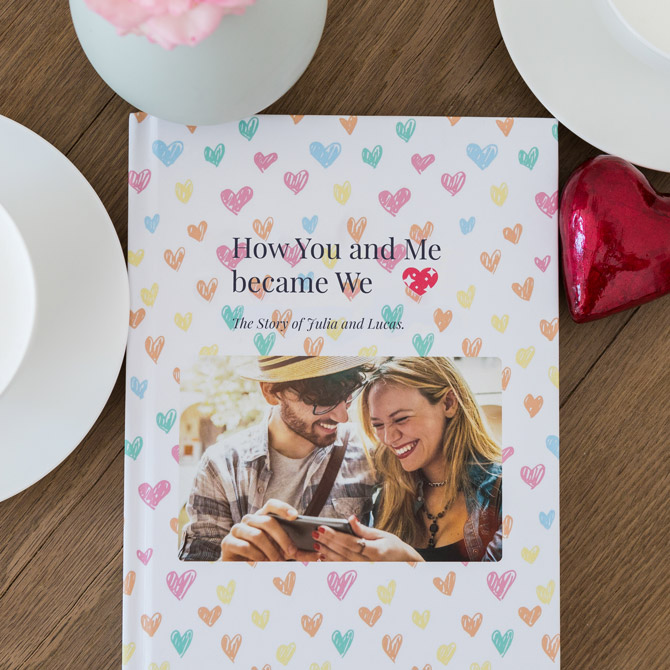WhatsApp Lovestory Chat as a Book