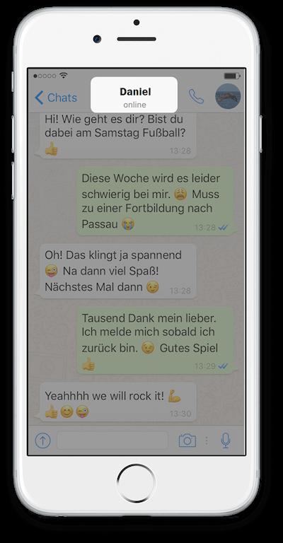 Exporteer WhatsApp Chat vanuit iCloud Stap 2