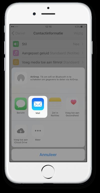 Exporteer WhatsApp Chat vanuit iCloud Stap 5