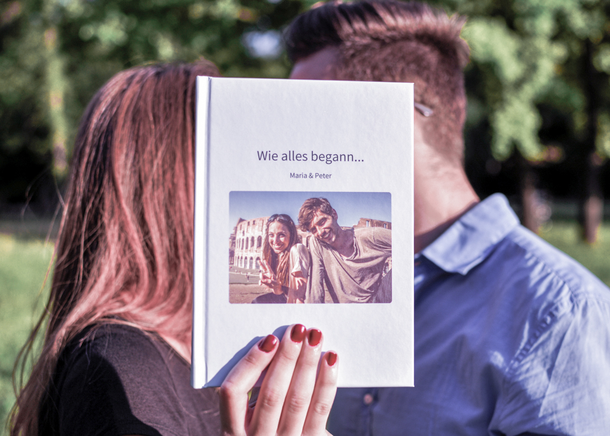 Wie alles begann - Eure Lovestory als zapptales Buch