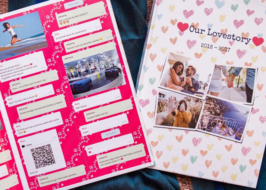 Eure Lovestory als gebundenes Hardcover Buch von zapptales