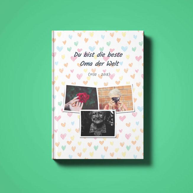 zapptales WhatsApp Buch Cover für Chat mit der verstorbenen Oma
