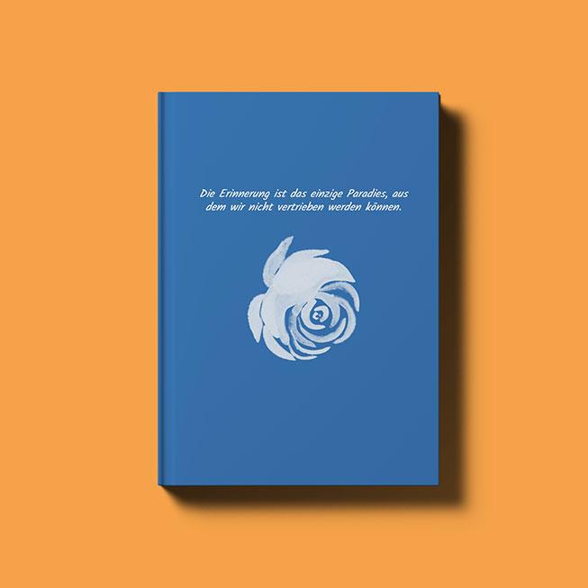 zapptales WhatsApp Buch Cover für Chat mit verstorbenem Menschen