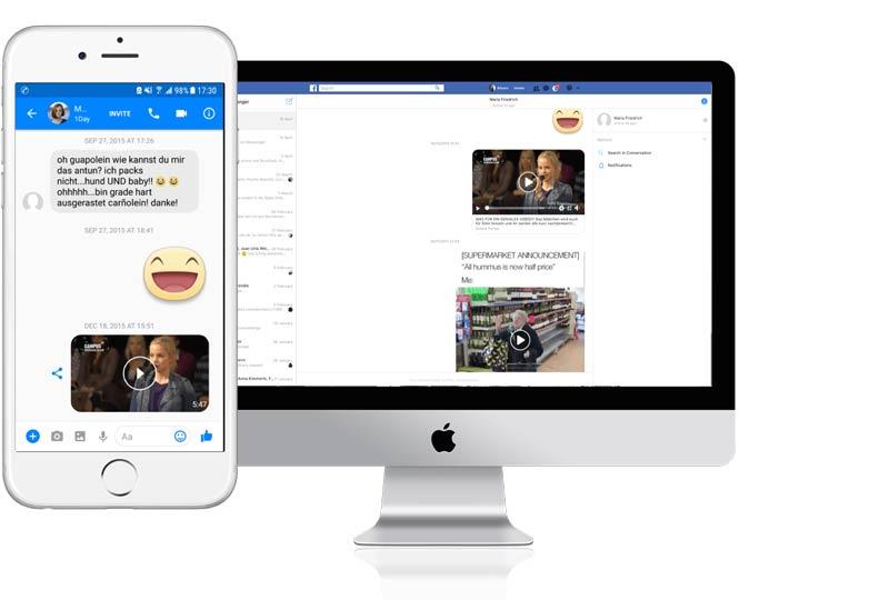 Facebook Messenger Chat speichern So geht's