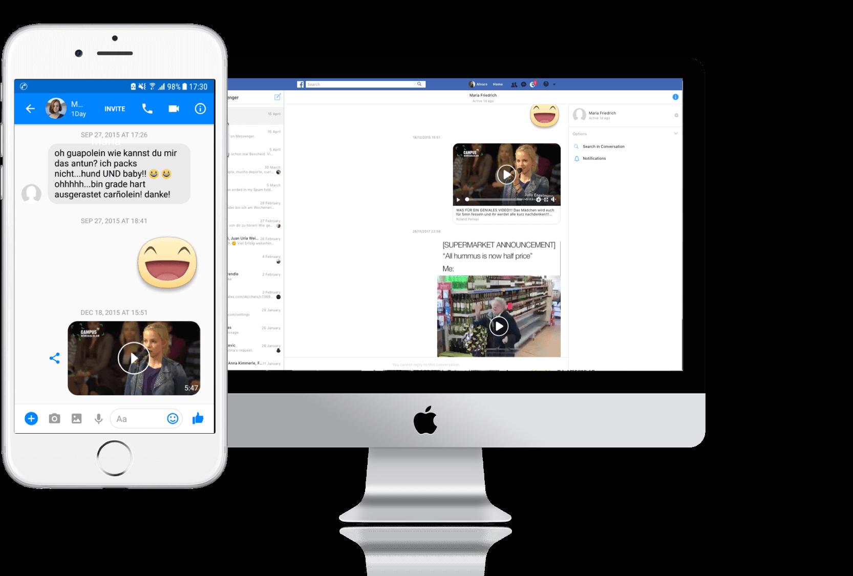 facebook chat downloader chrome