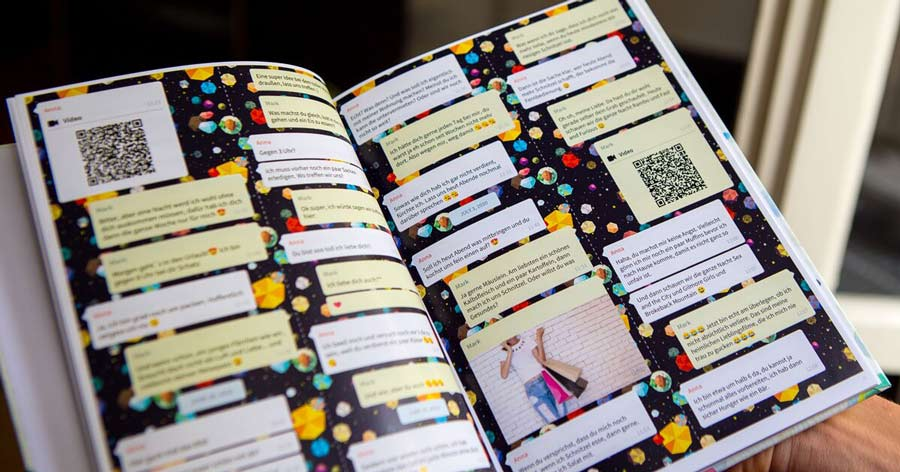 Print your WhatsApp Chat as a book