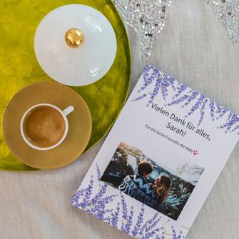 Facebook Messenger Verlauf mit bester Freundin als Buch