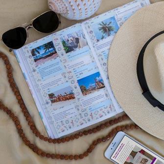 Reise Facebook Messenger Chat als Erinnerungsbuch