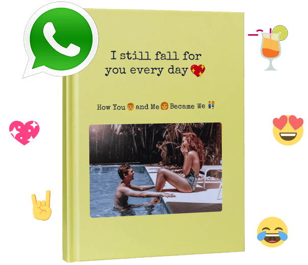 Print your WhatsApp chat as a unique book with zapptales